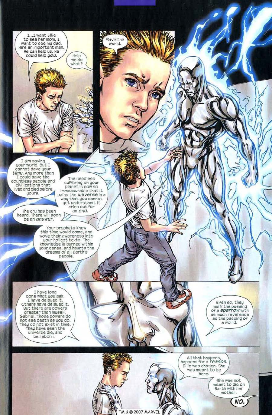 Read online Silver Surfer (2003) comic -  Issue #5 - 29