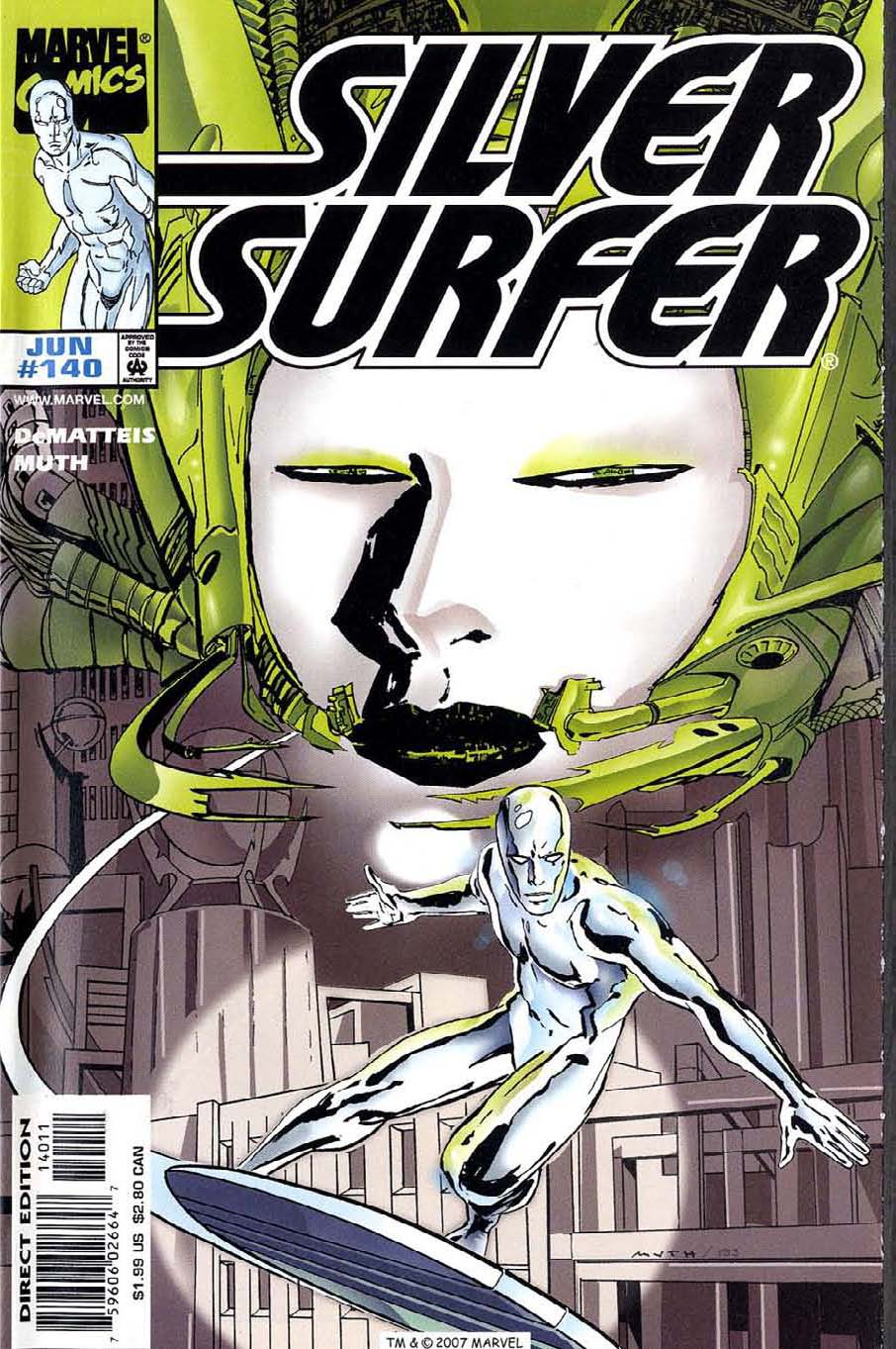 Read online Silver Surfer (1987) comic -  Issue #140 - 1