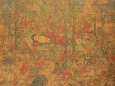 仏涅槃図(円覚寺)