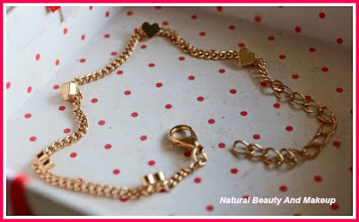 Golden Hearts Bracelet From Everstylish [dot] com