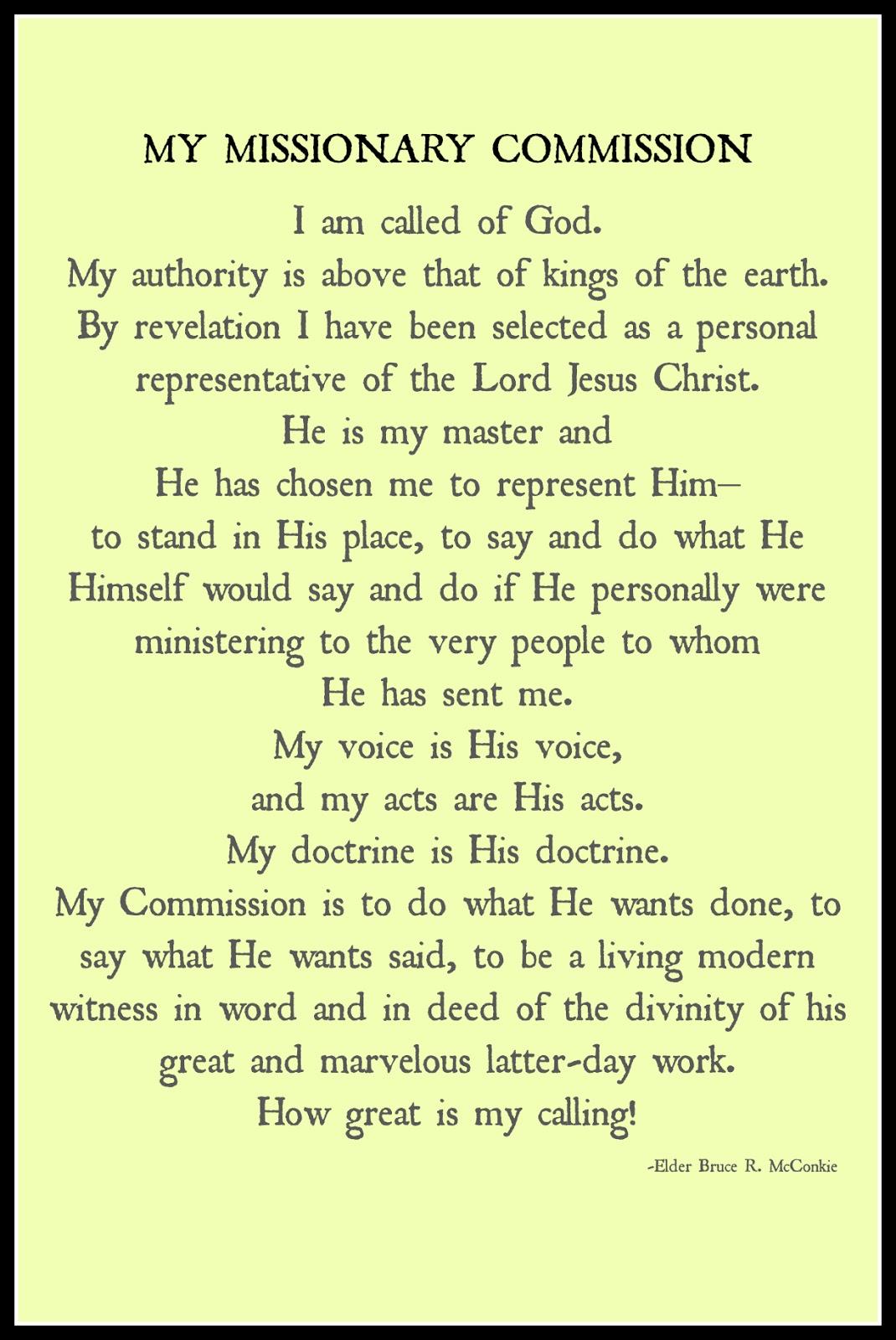 Mature missionary #1
