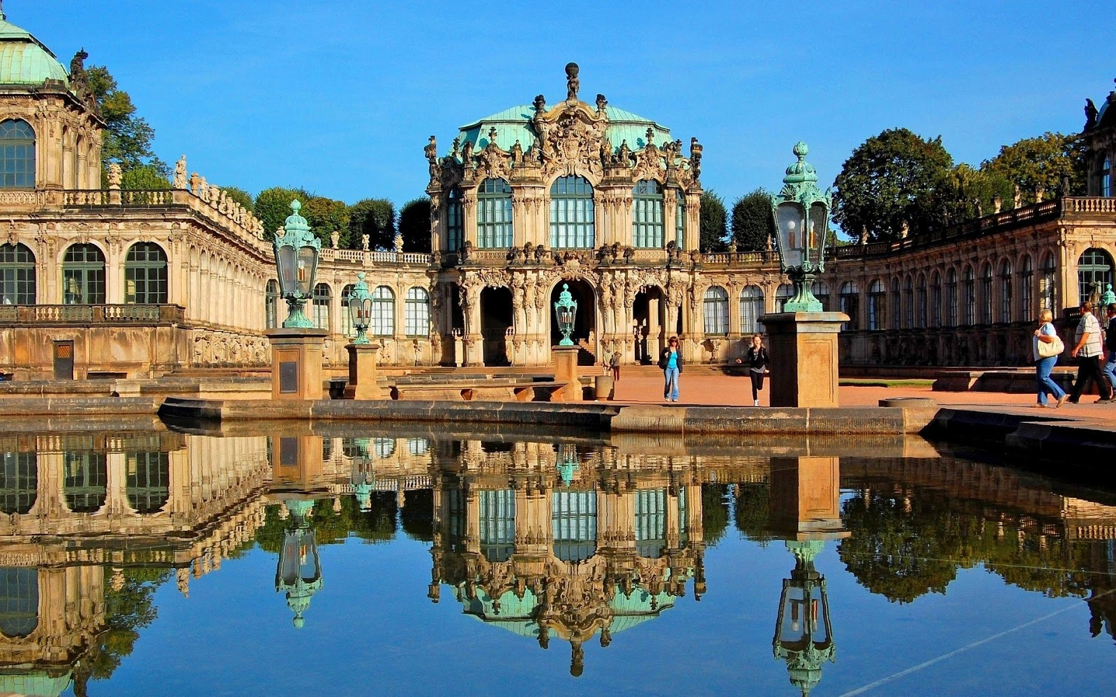 Central Europe Dresdner Zwinger Zwinger Palace