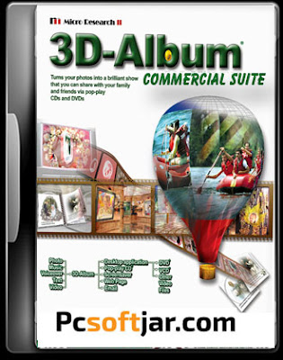 3D Album Commercial Suite 3.29 Free Download for Windows Xp/7/8/10