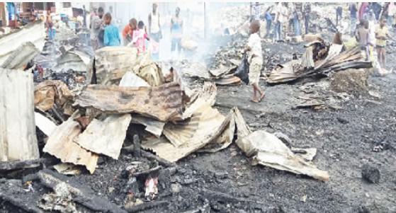 Fire Destroys Over 20 Houses In Mile 2, Lagos