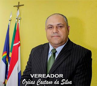 Vereador Ozéias Caetano vai a Brasília para participar do ato 'Ocupe Brasília'