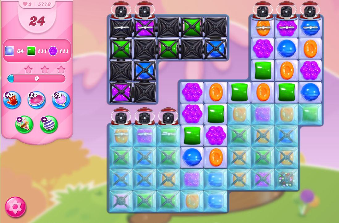Candy Crush Saga level 5773