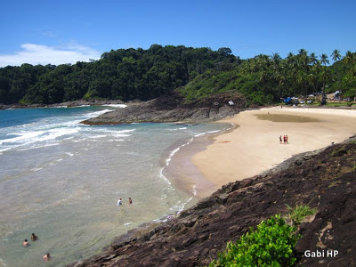 4 Praias Urbanas - Praia do Costa Itacaré