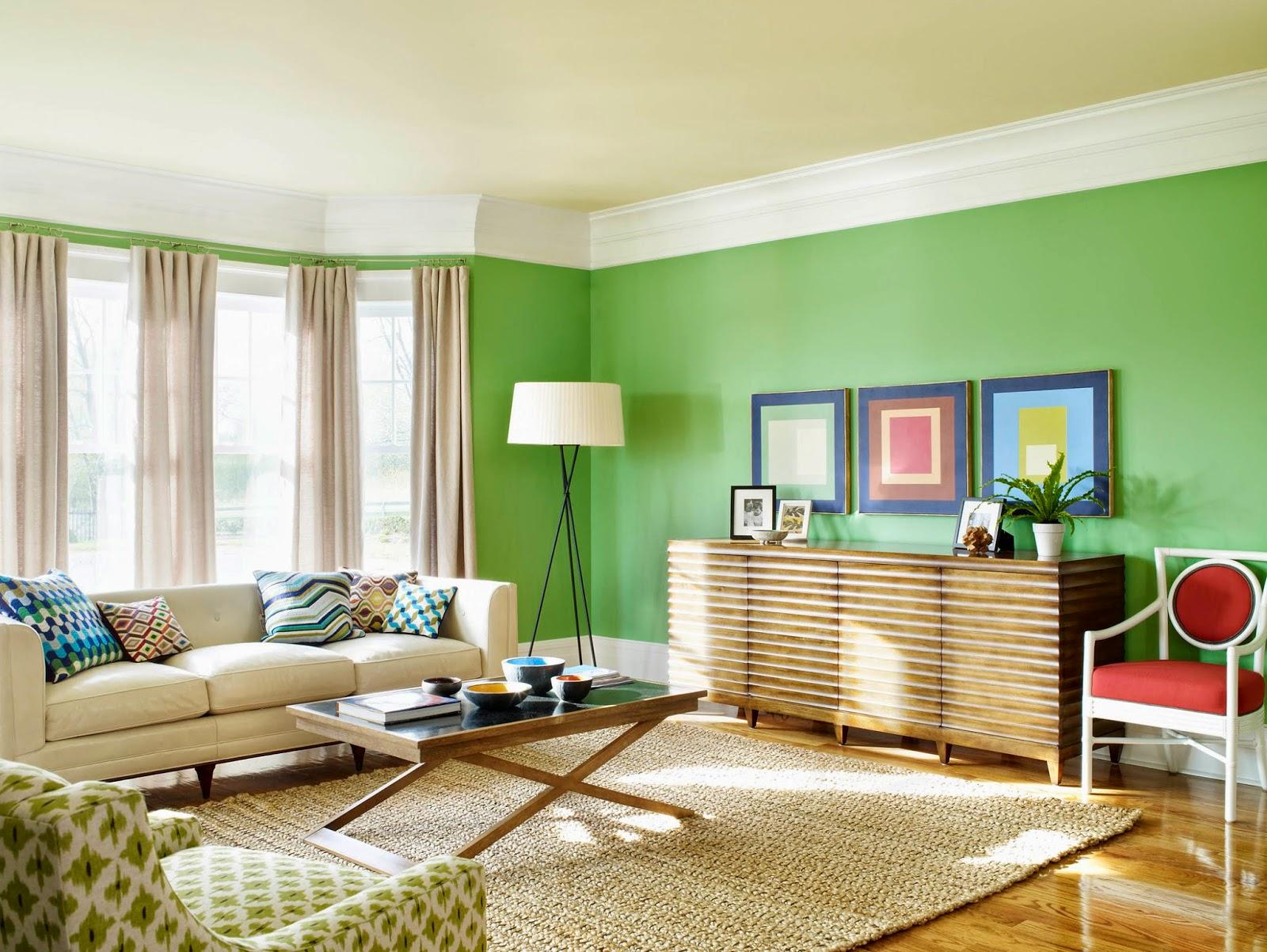 Kombinasi Warna Ruang Tamu Minimalis Yang Elegan