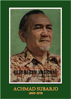 gambar-foto pahlawan nasional indonesia, Achmad Subardjo