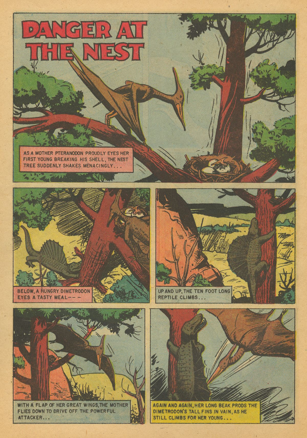 Read online Turok, Son of Stone comic -  Issue #8 - 16