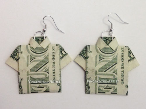 dollar-bill-origami-shirt - Sassy Dealz | 375x500