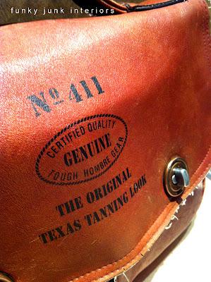 vintage purse via Funky Junk Interiors
