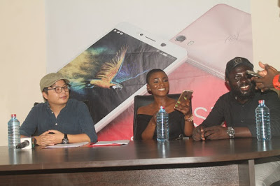 Ahuofe Patri Unveiled As itel Mobile Ghana Brand Ambassador