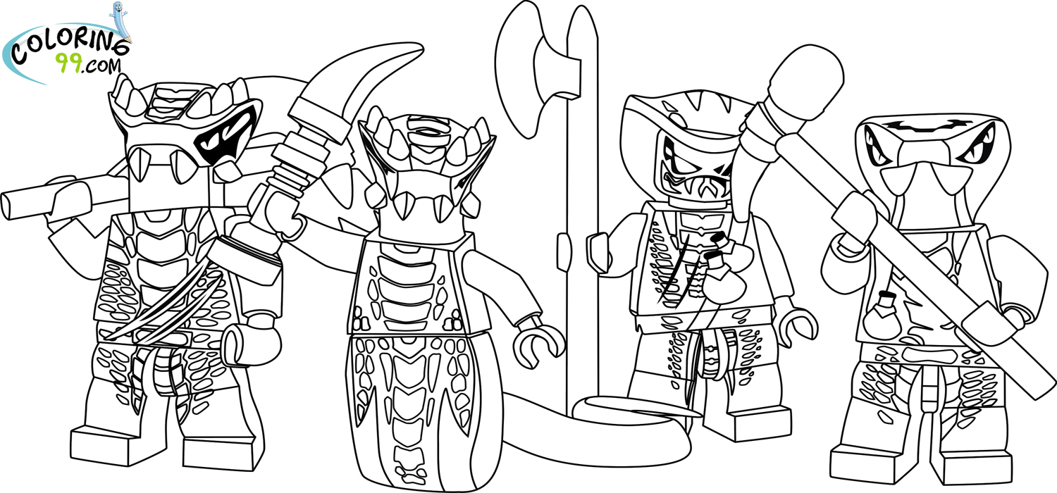 LEGO Ninjago Venomari Coloring Pages