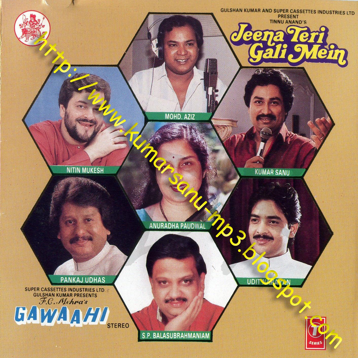 Kumar Sanu Mp3 l Hindi Movies MP3 All Songs   Bollywood Rare