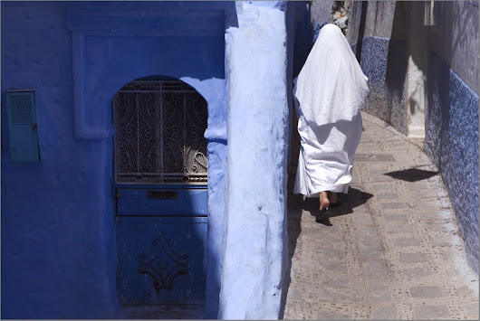 Blue. Chefchaouen. Morocco