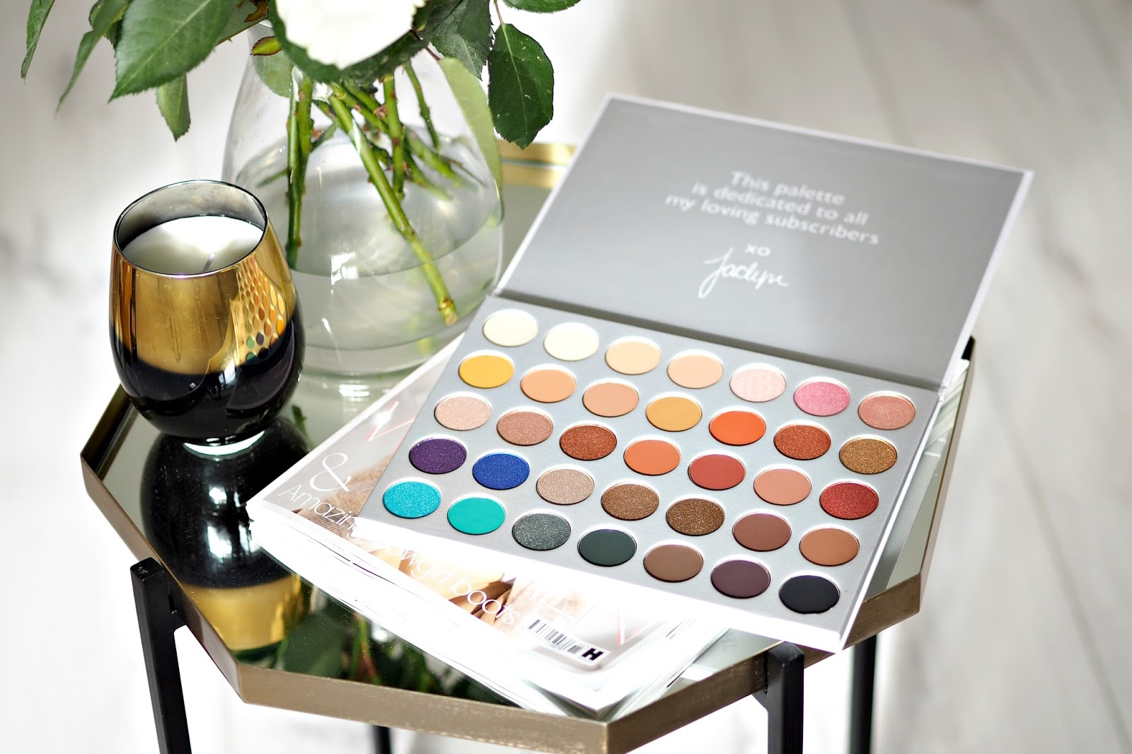 Morphe X Jaclyn Hill Eyeshadow Palette Review & Swatches