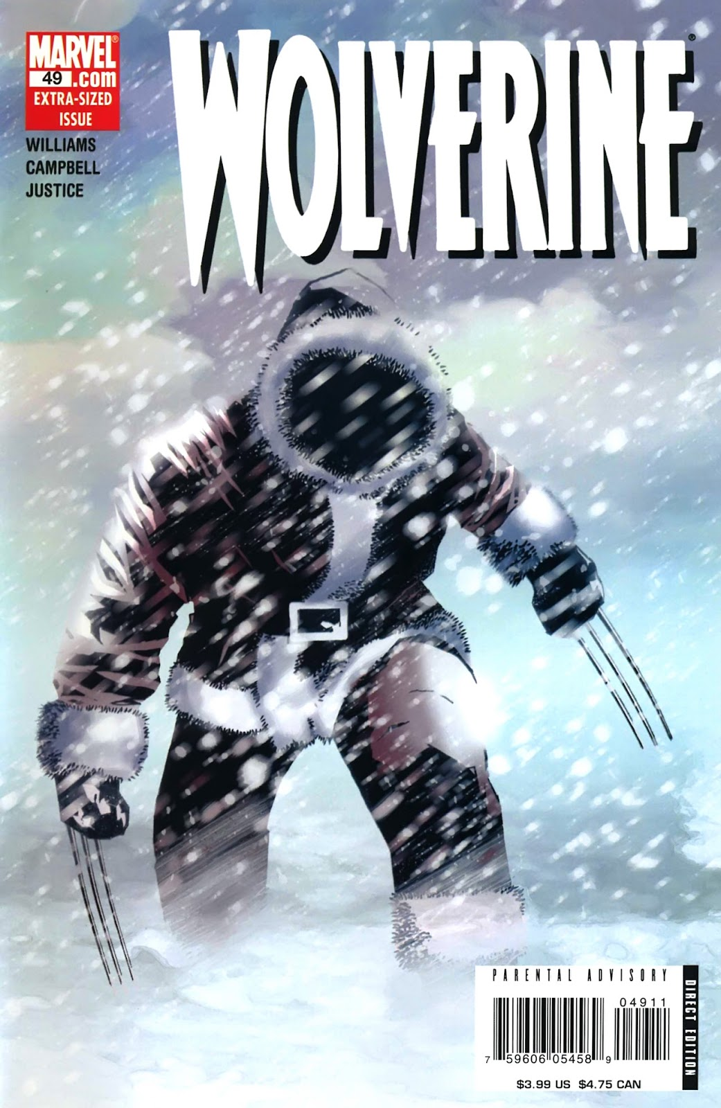 Read online Wolverine (2003) comic -  Issue #49 - 1