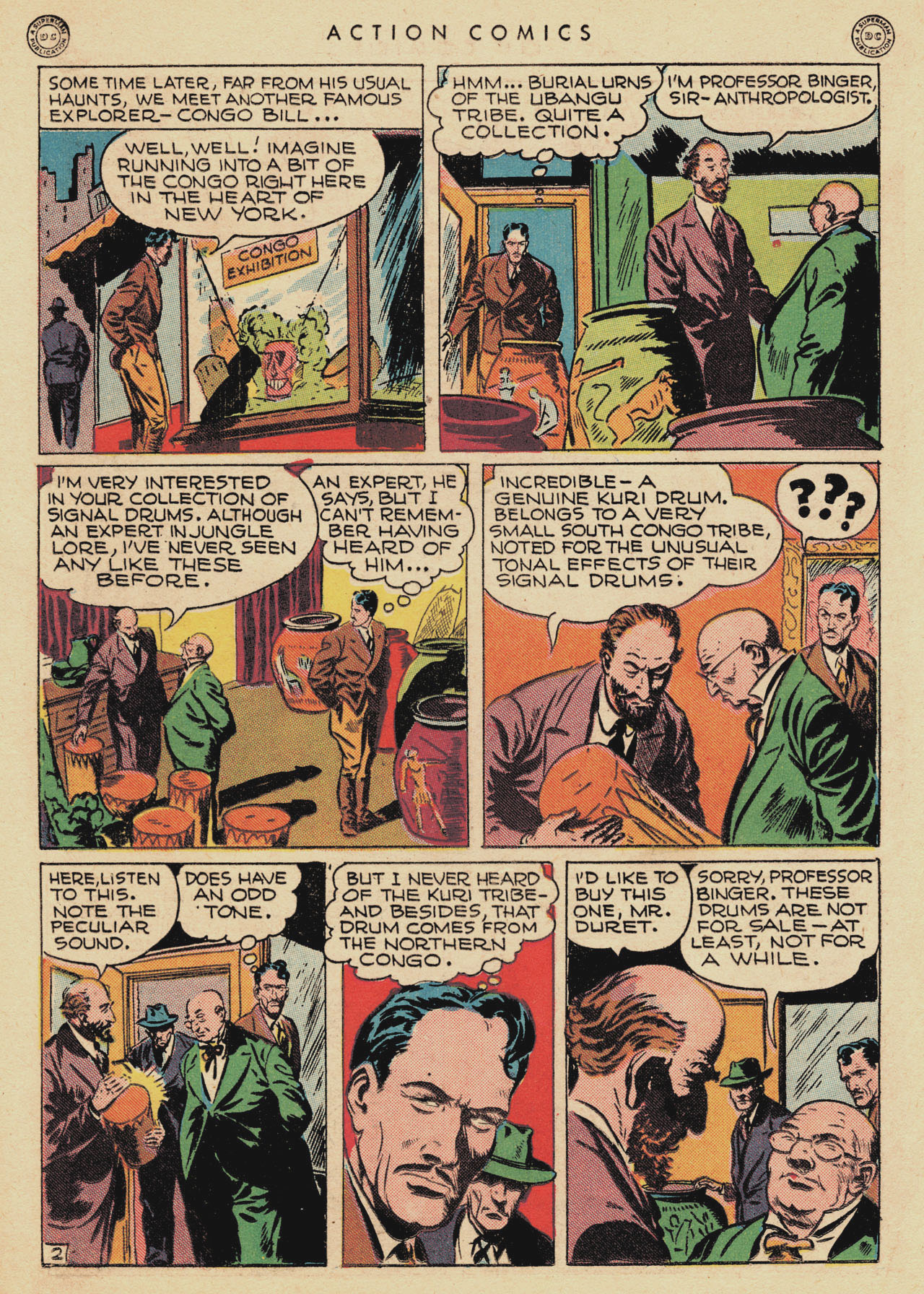 Read online Action Comics (1938) comic -  Issue #94 - 36