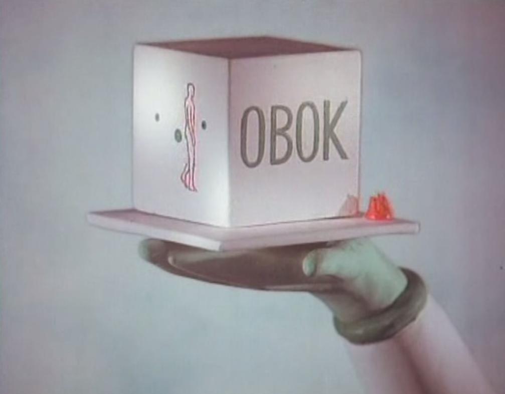 Piotr Kamler. Une mission éphémère (1993). Animation Short | Cortometraje animación