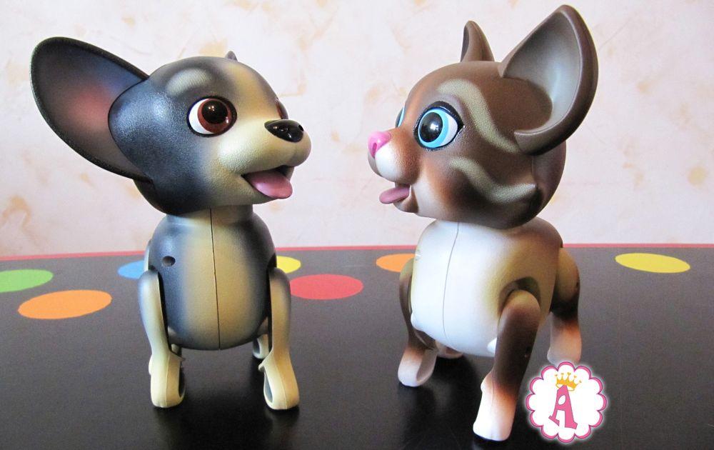 Интерактивные игрушки для девочек собачки и кошечки