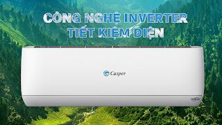 Công nghệ inverter - Điều hòa Casper