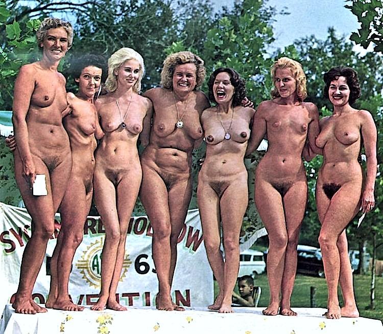 Sensual nudists