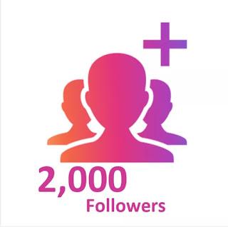 1000 follower