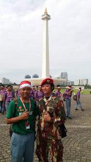 Perwakilan Siswa SMAN 2 Kudus Mengikuti Kegiatan Serbuan Tutorial di Jakarta