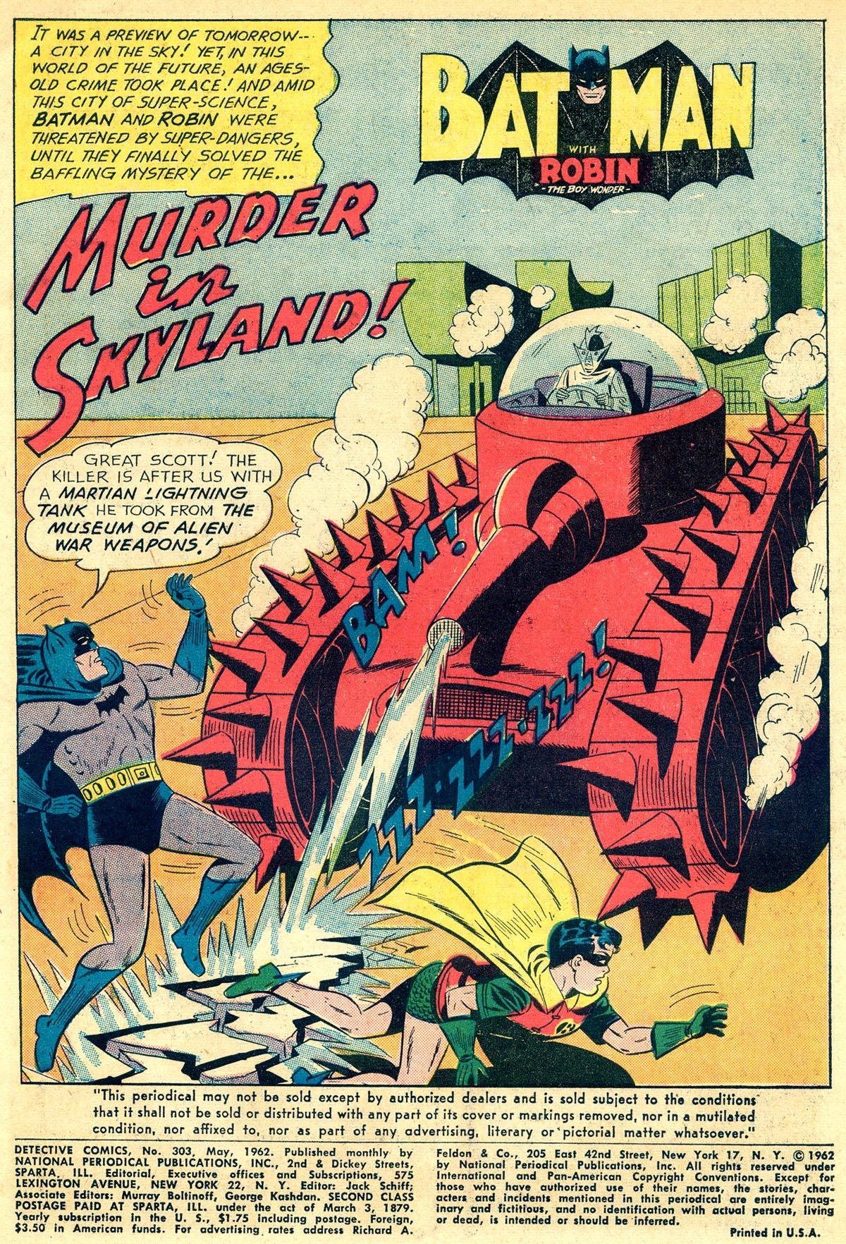Detective Comics (1937) 303 Page 2