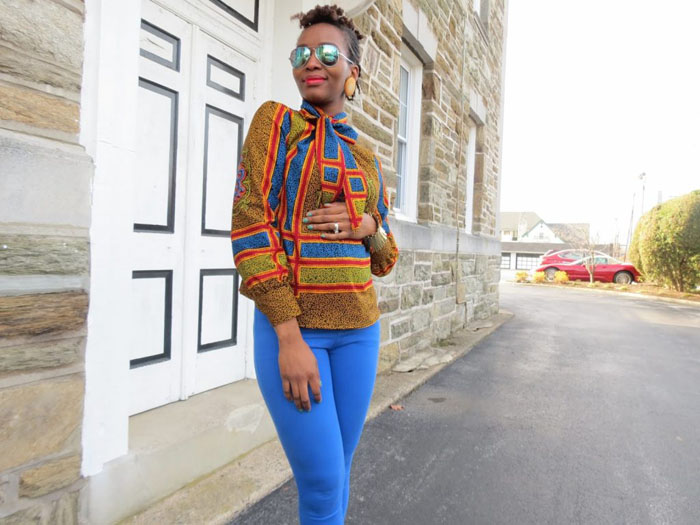 ankara blouses on jeans (5)
