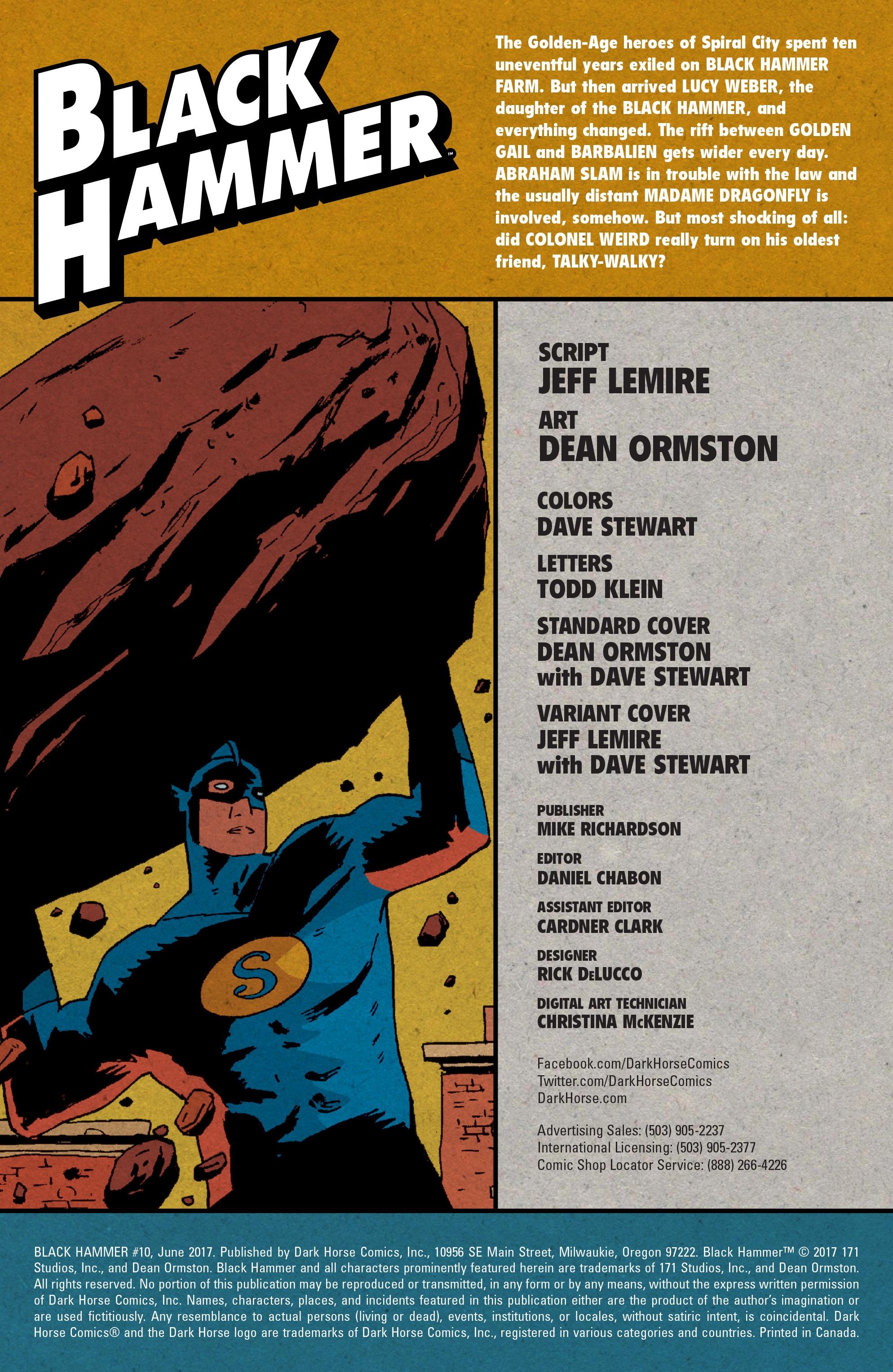 Read online Black Hammer comic -  Issue #10 - 3
