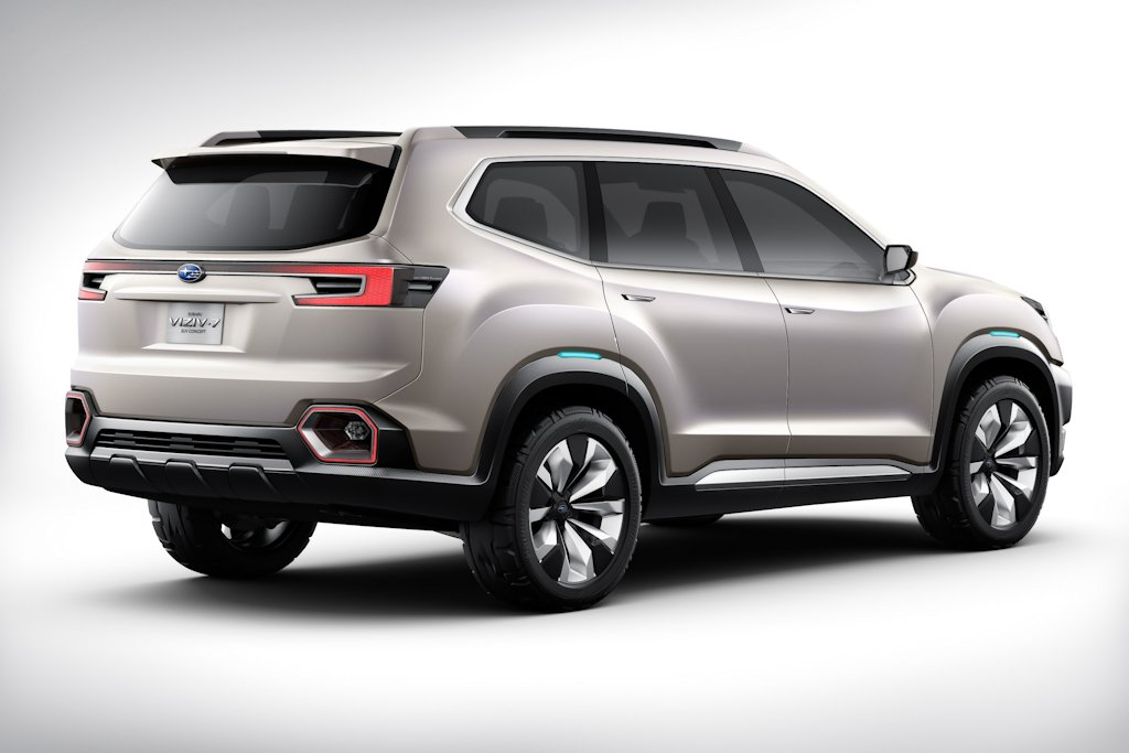... LA Auto Show: The Viziv-7 Foreshadows Subaru's Next 7-Seater Crossover