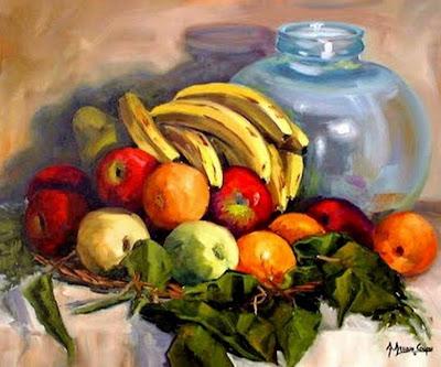 Imgenes Arte Pinturas Pintura al Oleo Bodegones