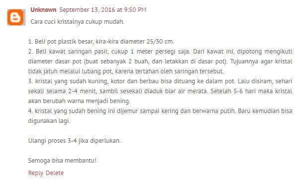 Review Pasir Kucing Kristal Silika Kitty Sand