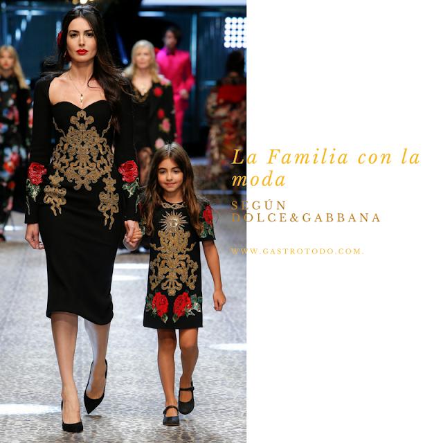 El modelo mamá y el modelo niña.