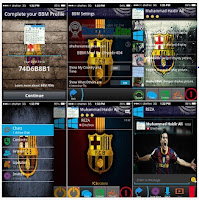 BBM MOD Barcelona for Android Gingerbread