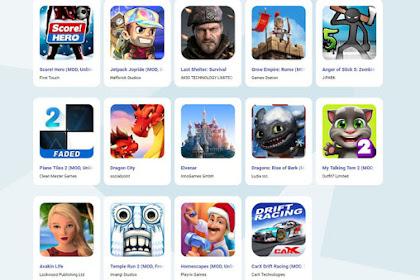 10 Situs Download Game MOD APK Android Terlengkap dan Terbaik di Tahun 2019