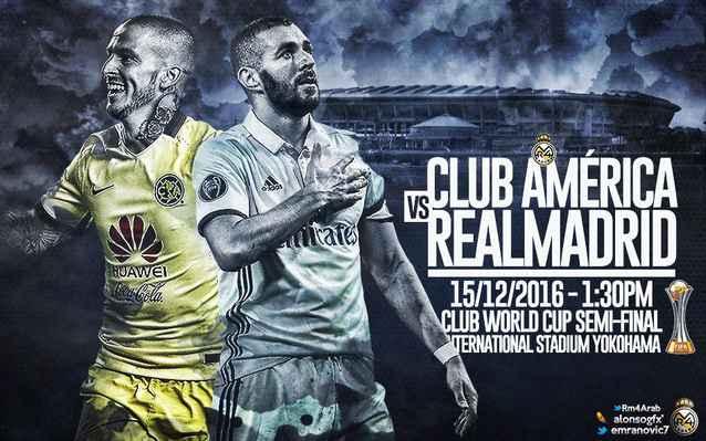 يلا شوت مباراة ريال مدريد وكلوب امريكا بث مباشر اليوم الخميس