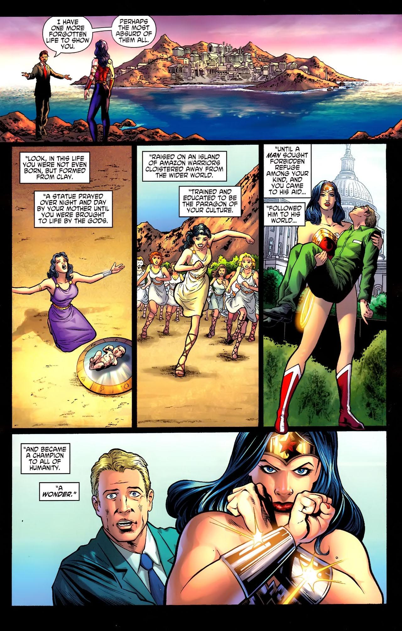 Read online Wonder Woman (2006) comic -  Issue #609 - 9
