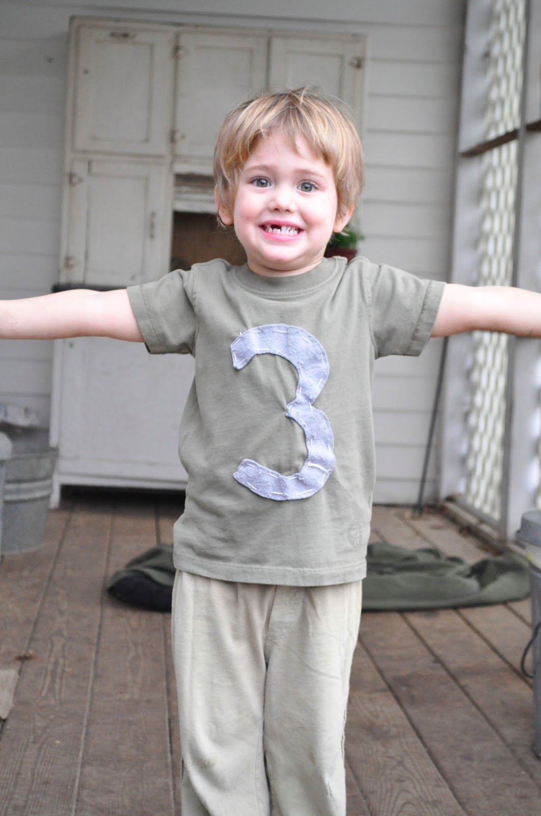 The Supermanns: My 3 Year Old Boy