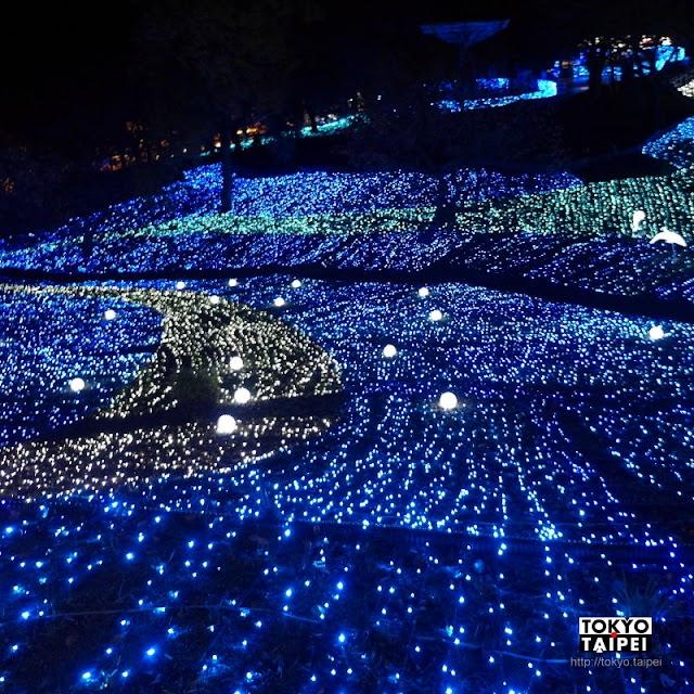 【相模湖ILLUMiLLION】關東最大燈祭 600萬顆燈泡閃耀整座山頭