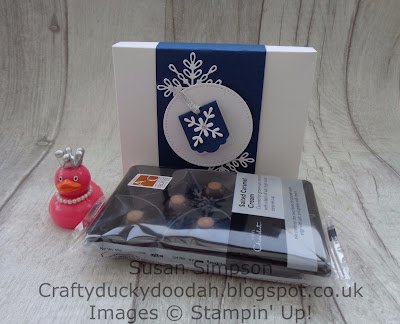 Stampin' Up! UK Independent  Demonstrator Susan Simpson, Craftyduckydoodah!, Snowflake Sentiments, Envelope Punch Board, October 2017 Coffee & Cards Project, Supplies available 24/7 from my online store,