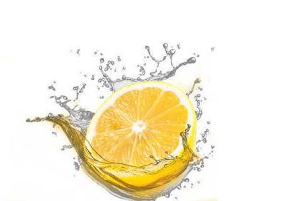 buah lemon segar