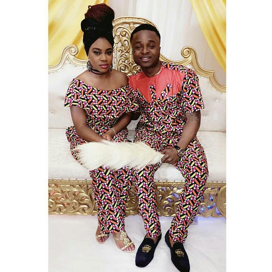 Hot And Classy African Ankara Style Designs For Couples -6640