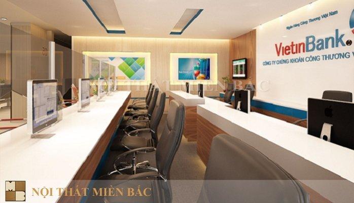 tư vấn thiết kế phòng giao dịch ngân hàng hiện đại