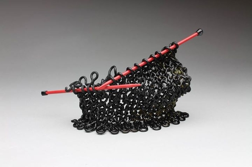 11-Carol-Milne-Glass-Knitted-Sculptures-www-designstack-co