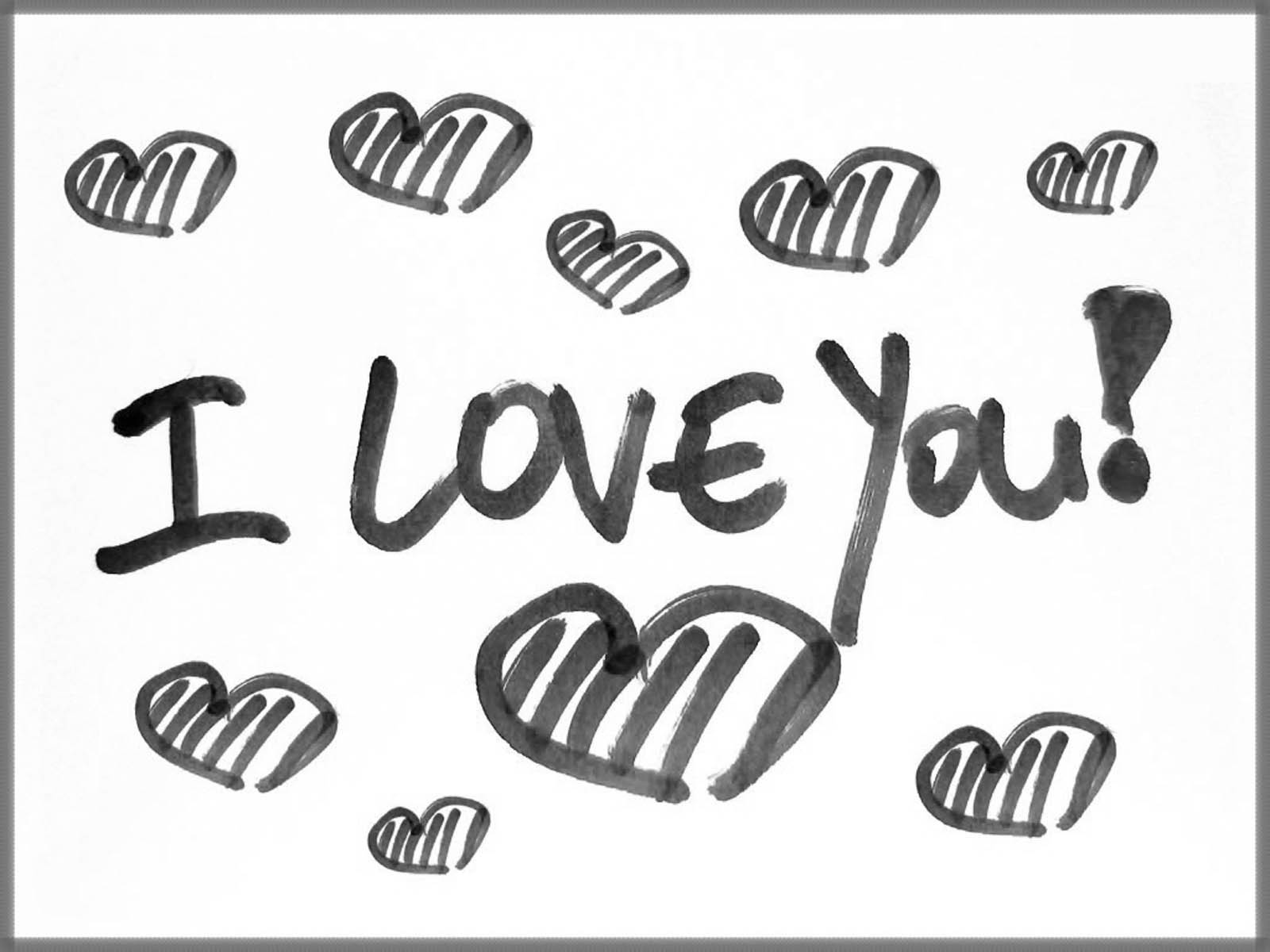 Black And White Love Wallpapers