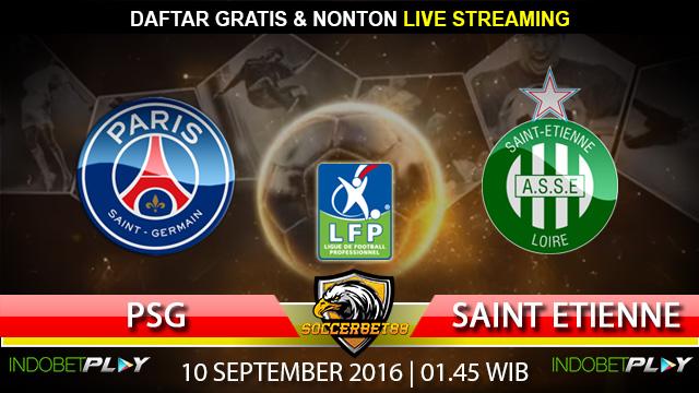 Prediksi PSG vs Saint Etienne 10 September 2016 (Liga Prancis)