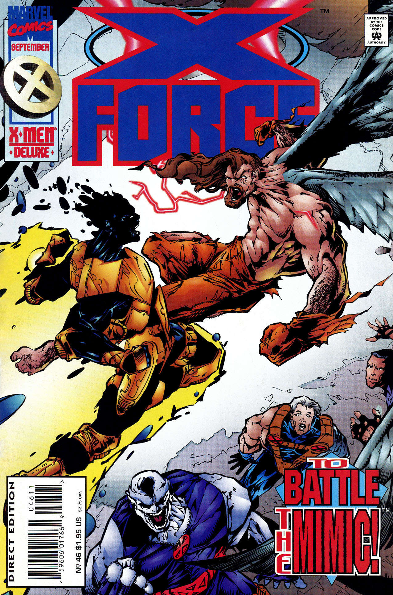 X-Force (1991) 46 Page 1